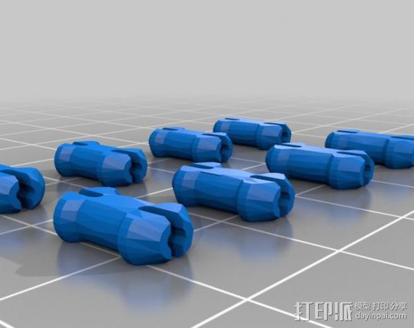 齿轮心 吊坠 3D模型  图3