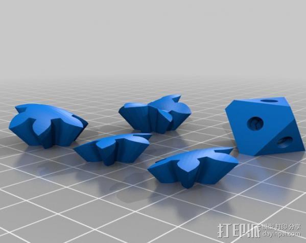 齿轮心 吊坠 3D模型  图5