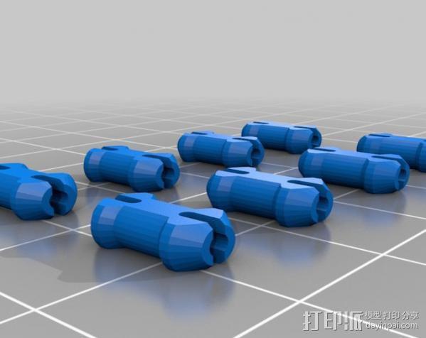 齿轮心 吊坠 3D模型  图6