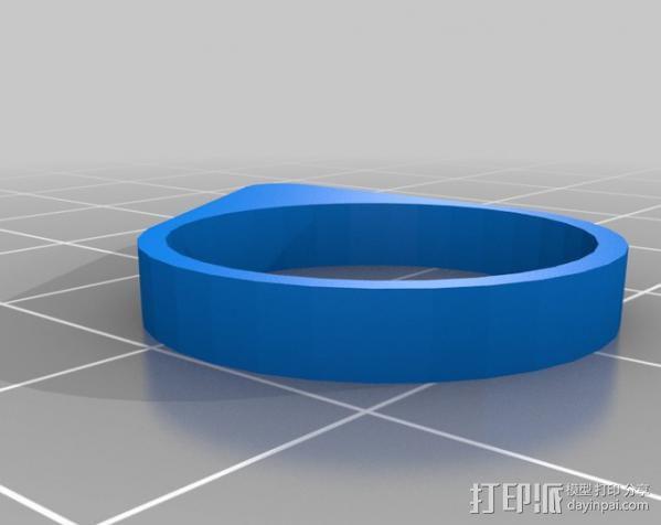 最小的戒指 3D模型  图3