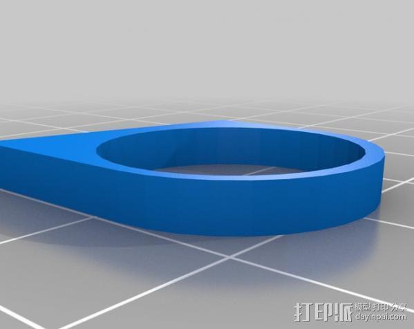 最小的戒指 3D模型  图4