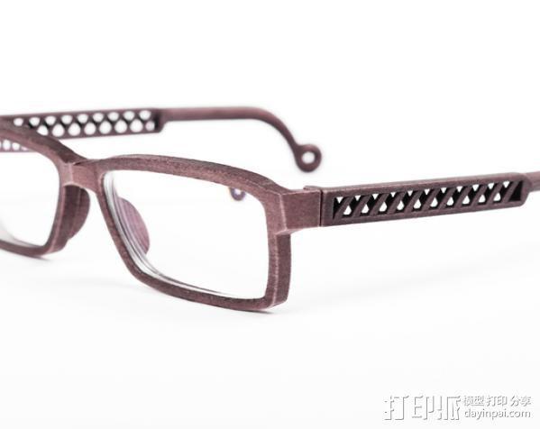 英式风眼镜 3D模型  图3