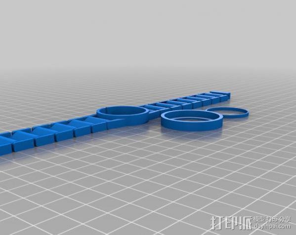 我的金表 3D模型  图1