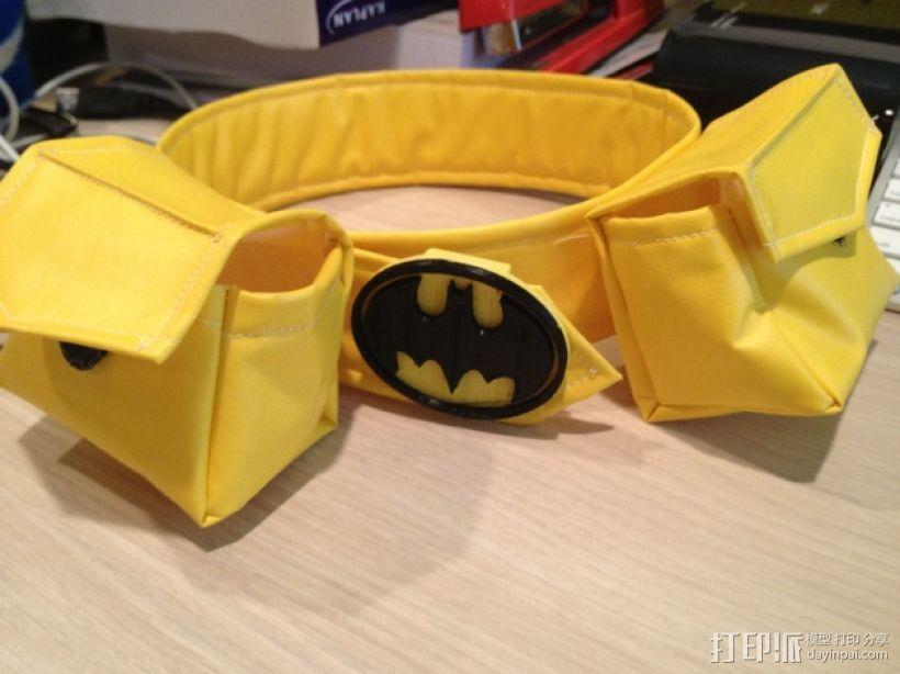 蝙蝠扣 3D模型  图2