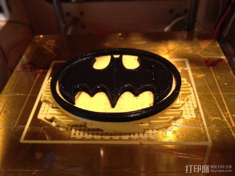蝙蝠扣 3D模型  图3