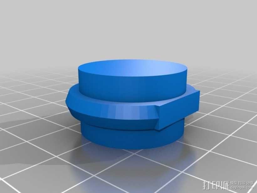 优雅的戒指 3D模型  图1
