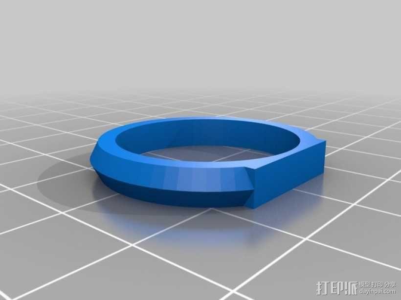 优雅的戒指 3D模型  图10