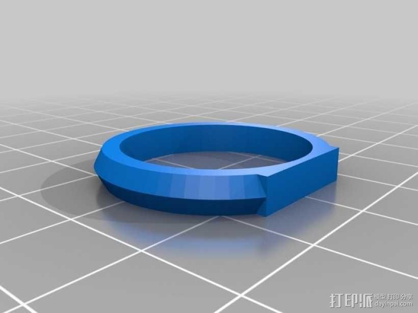 优雅的戒指 3D模型  图11