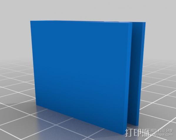 腰带夹 3D模型  图1