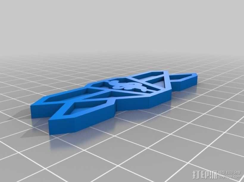 巴比伦5号徽章 3D模型  图5