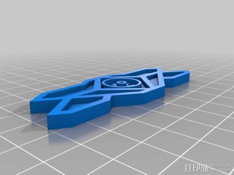 巴比伦5号徽章 3D模型  图6