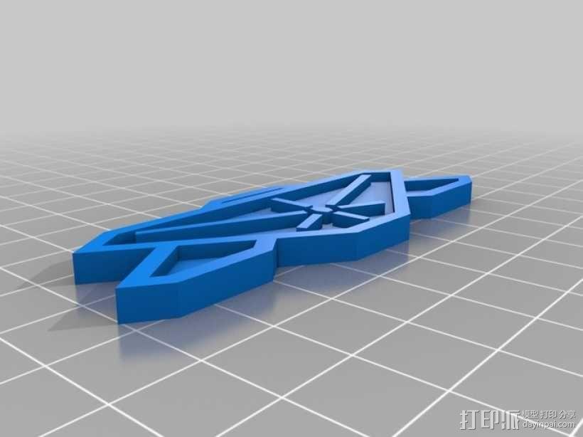 巴比伦5号徽章 3D模型  图4