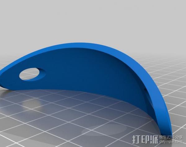 发夹和筷子发夹 3D模型  图4