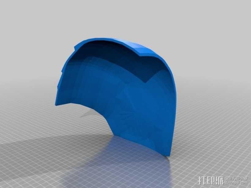 钢铁侠头盔 3D模型  图4