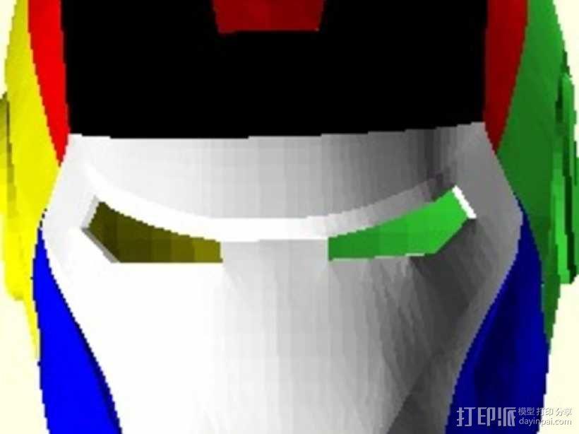 钢铁侠头盔 3D模型  图7