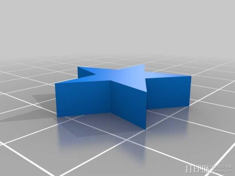 星珠 3D模型  图1