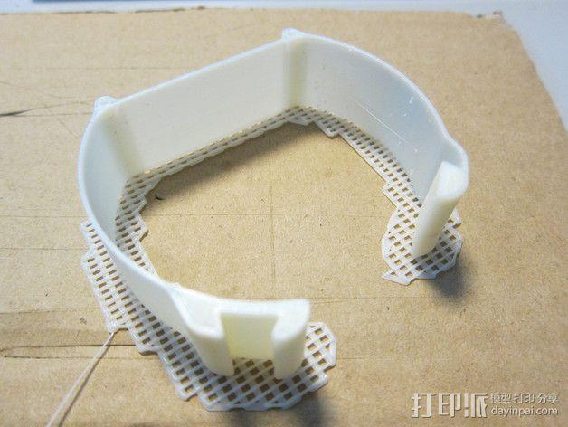简朴风表带 3D模型  图2
