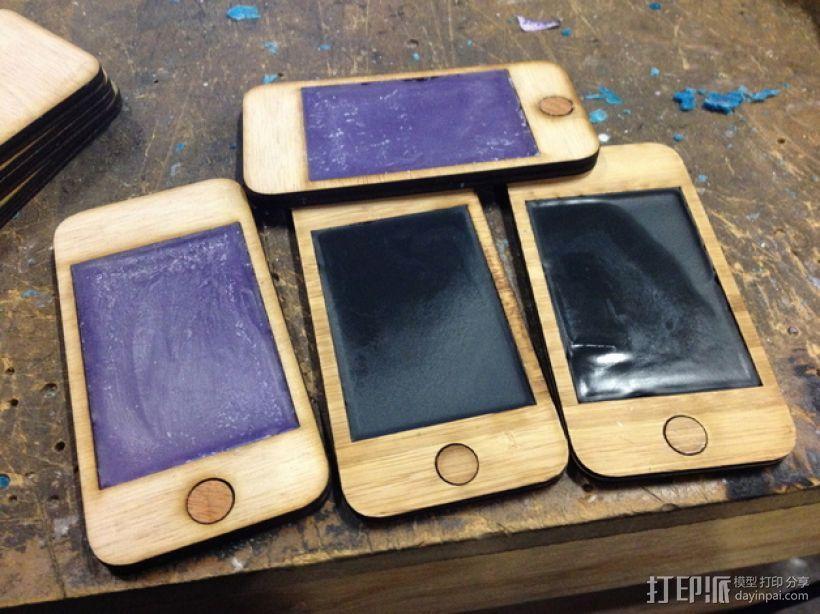 中世纪风格的PDA——IPhone 版 3D模型  图1