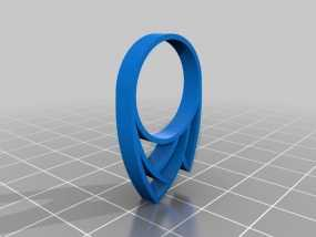 火焰戒指 3D模型