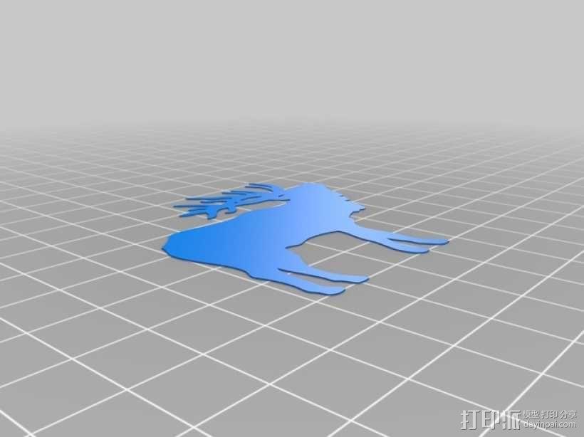 熨斗印花 3D模型  图5