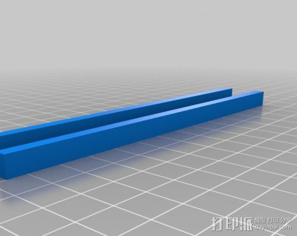 桥梁 模型 3D模型  图1