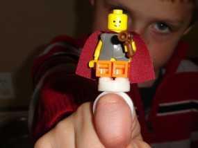 乐高玩具固定槽 3D模型