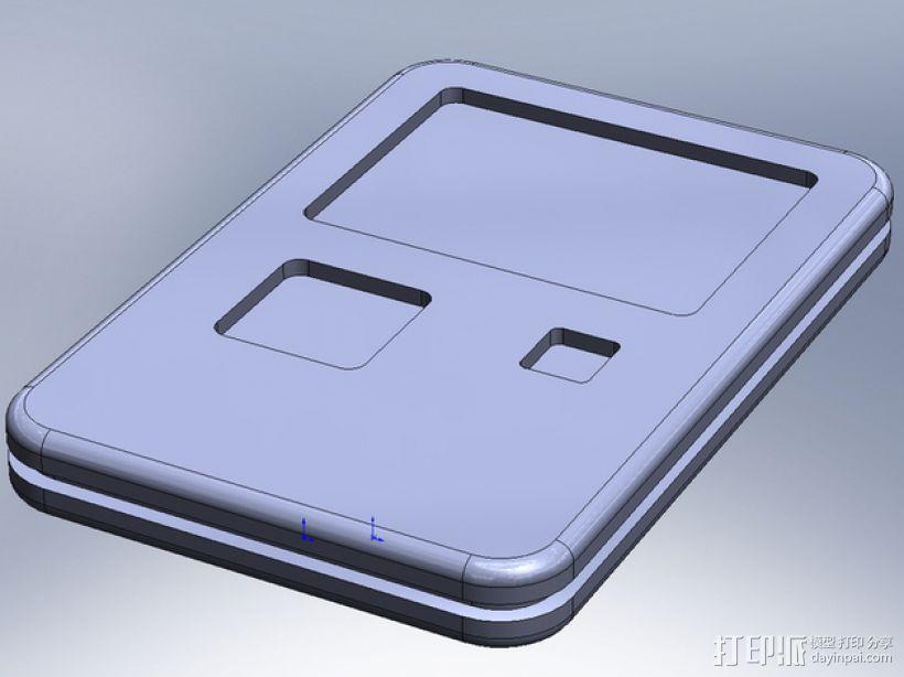 《星际迷航:下一代》 PADD 3D模型  图2