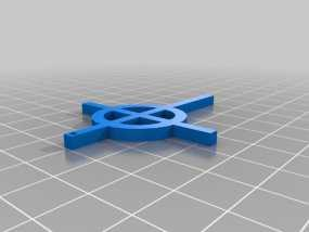 爱尔兰十字架 3D模型