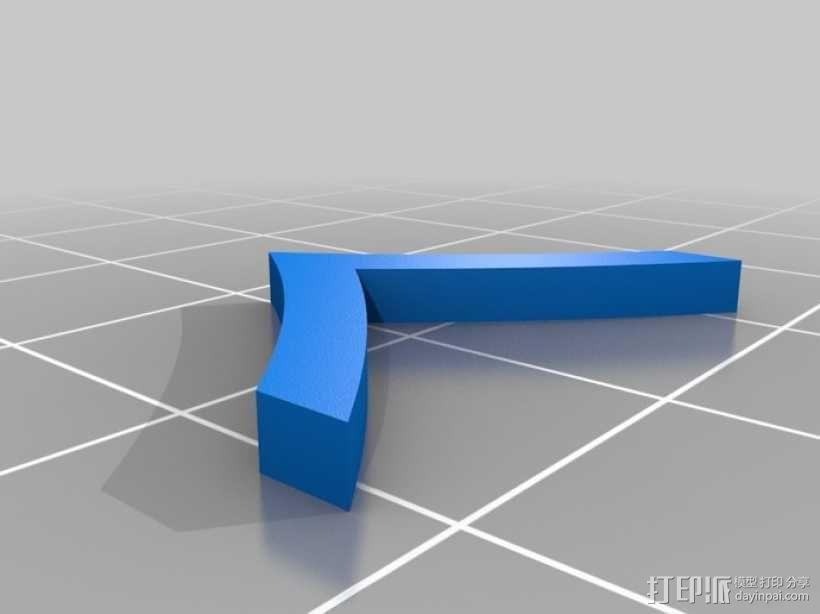 美国海军陆战队军衔徽章 3D模型  图7