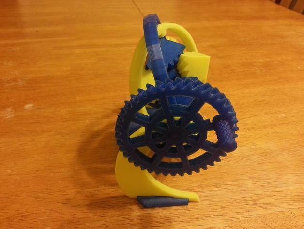 神奇的陀螺魔方齿轮 3D模型  图5