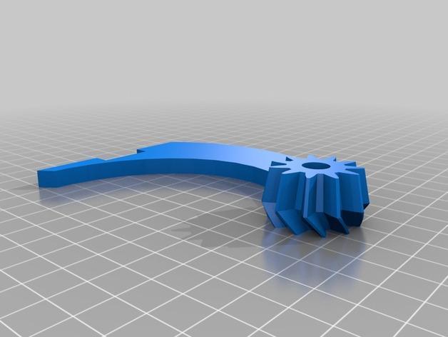 神奇的陀螺魔方齿轮 3D模型  图18