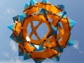 伊莱克特拉 三维打印模块化折纸 3D模型