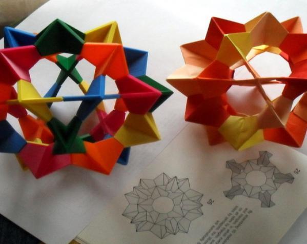 伊莱克特拉 三维打印模块化折纸 3D模型  图3