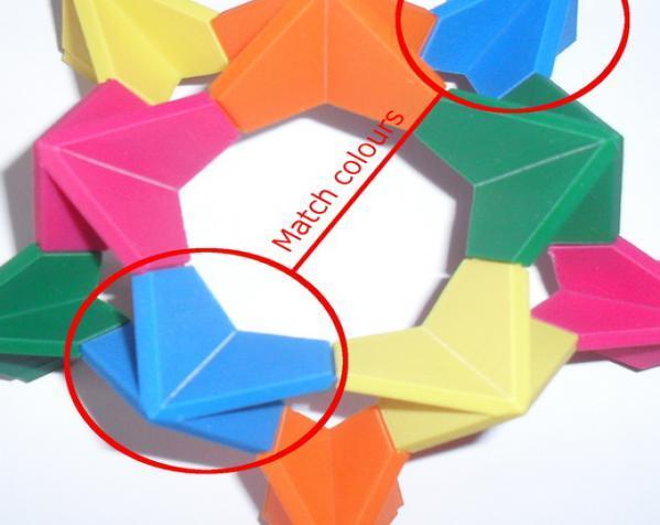 伊莱克特拉 三维打印模块化折纸 3D模型  图5