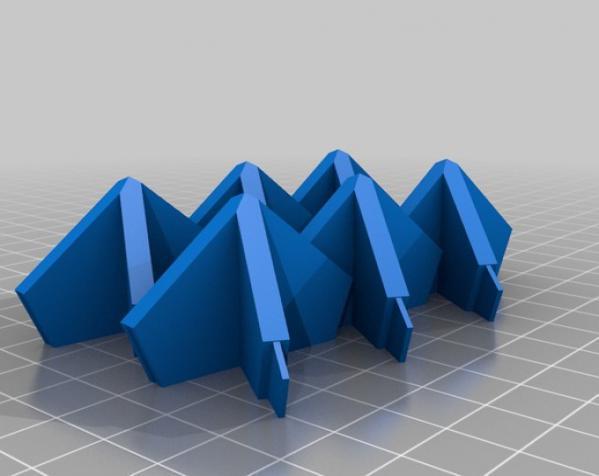 伊莱克特拉 三维打印模块化折纸 3D模型  图7