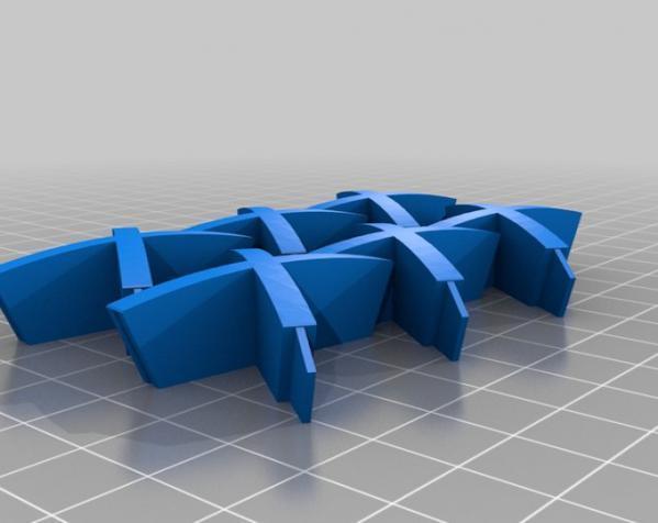 伊莱克特拉 三维打印模块化折纸 3D模型  图8