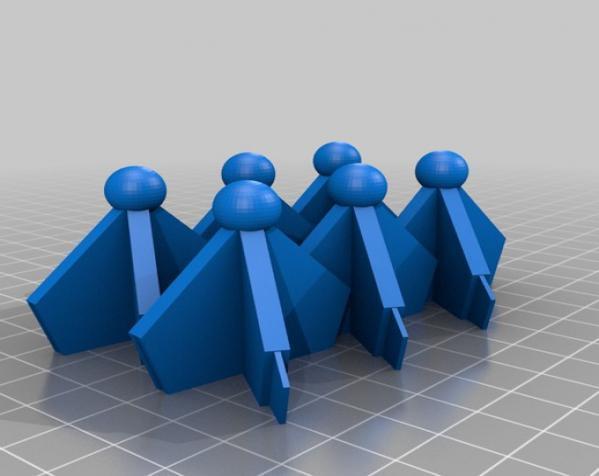 伊莱克特拉 三维打印模块化折纸 3D模型  图9
