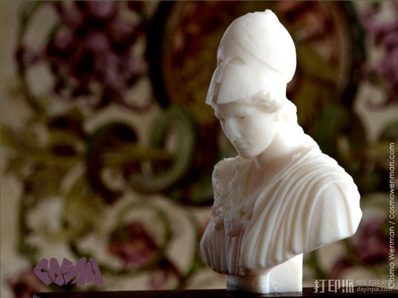 雅典娜韦莱特里 3D模型  图1
