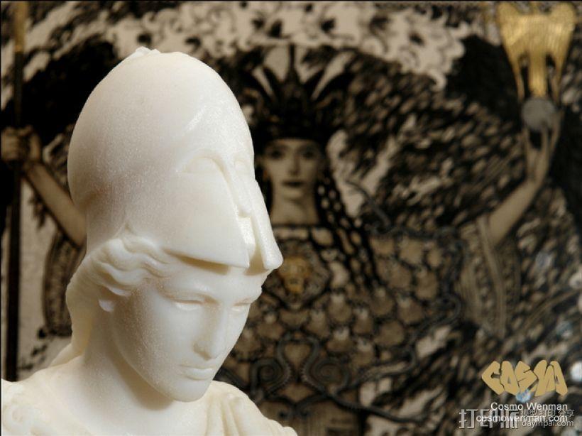 雅典娜韦莱特里 3D模型  图4