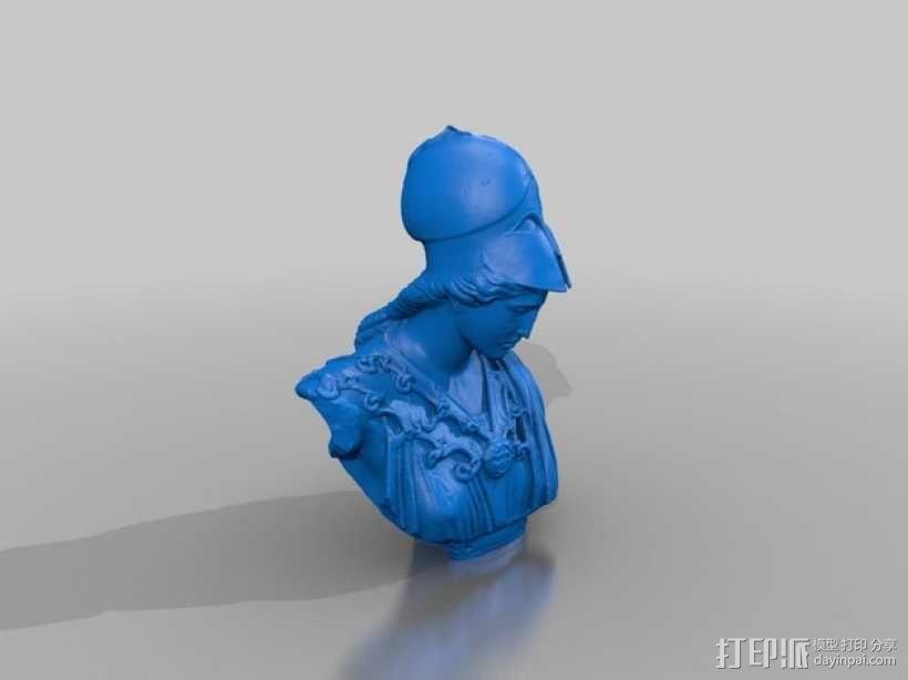 雅典娜韦莱特里 3D模型  图7