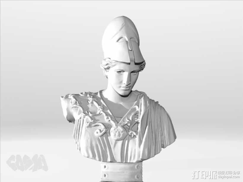 雅典娜韦莱特里 3D模型  图5