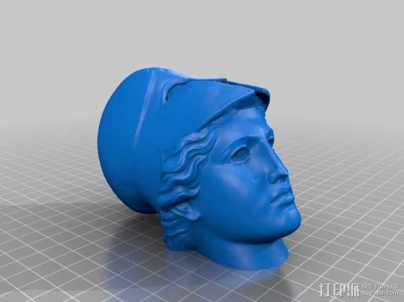 雅典娜韦莱特里 3D模型  图8