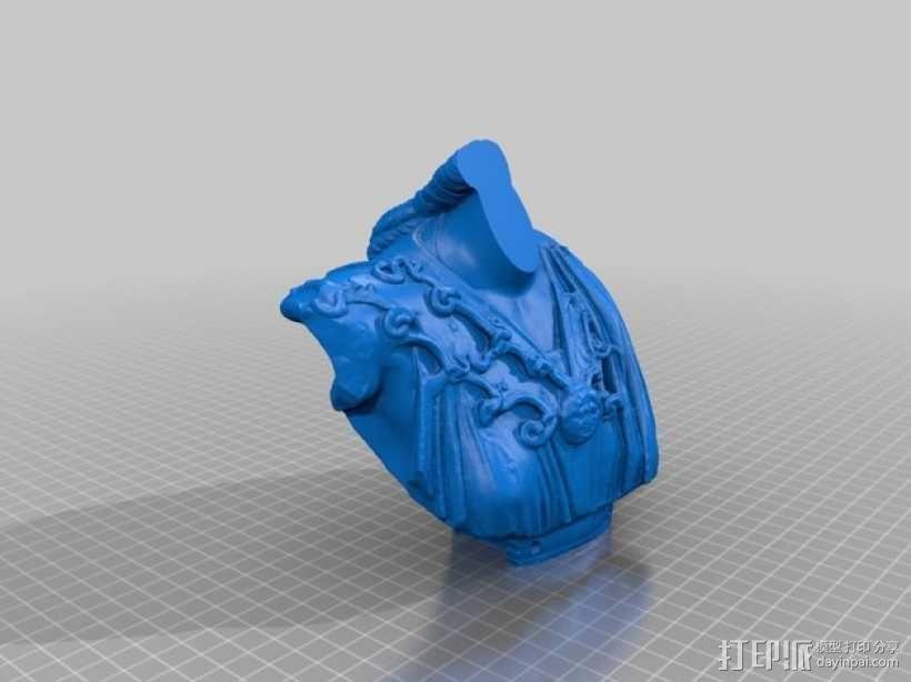 雅典娜韦莱特里 3D模型  图9