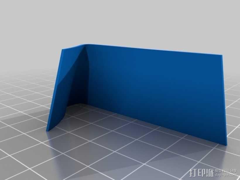 3D打印字母 3D模型  图2