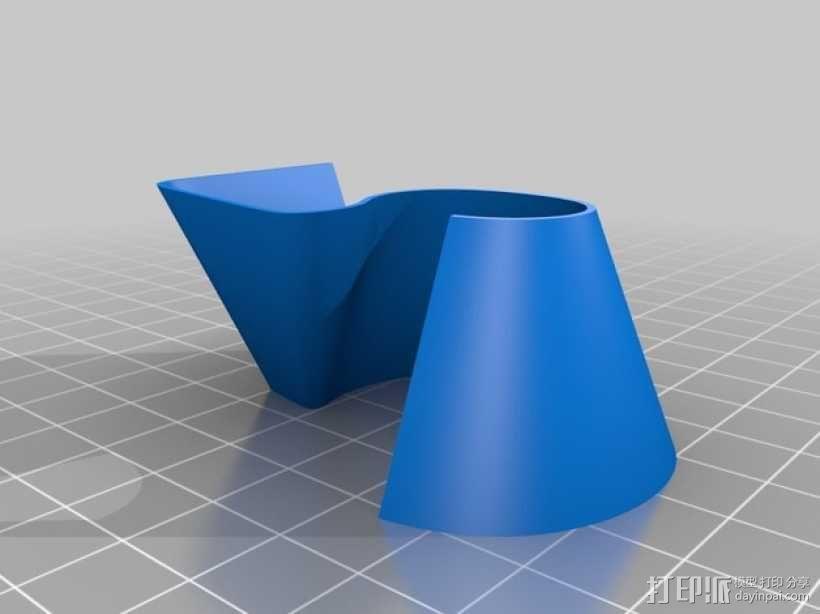 3D打印字母 3D模型  图4