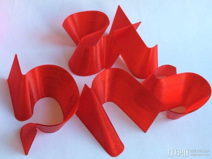 3D打印字母 3D模型  图13