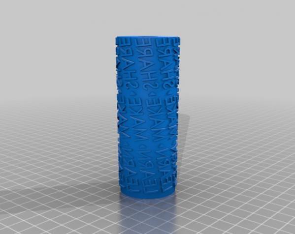 油漆滚 3D模型  图1