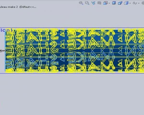 油漆滚 3D模型  图4