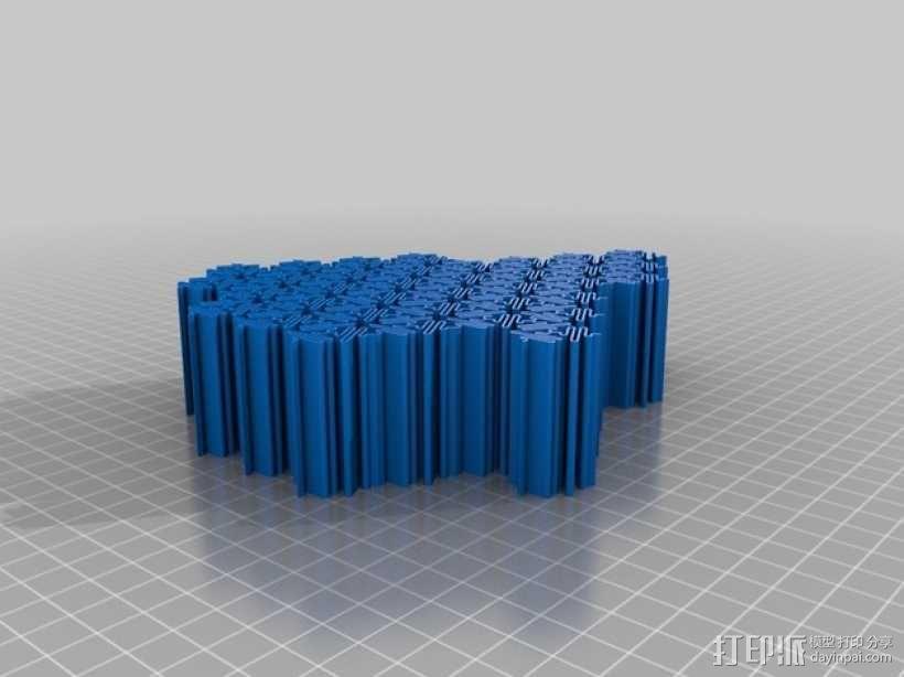 介孔结构材料 模型 3D模型  图10