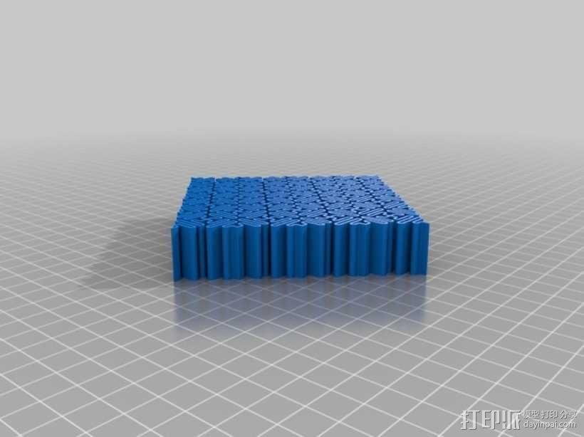 介孔结构材料 模型 3D模型  图11